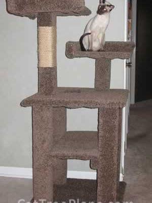 cat tree plans    cat furniture plans