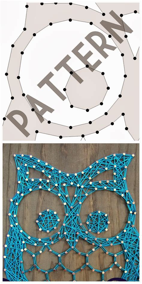 String Art Pattern Owl | download otis the owl pattern here