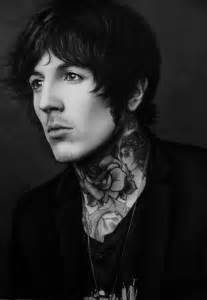 Oliver sykes by nheori on deviantart