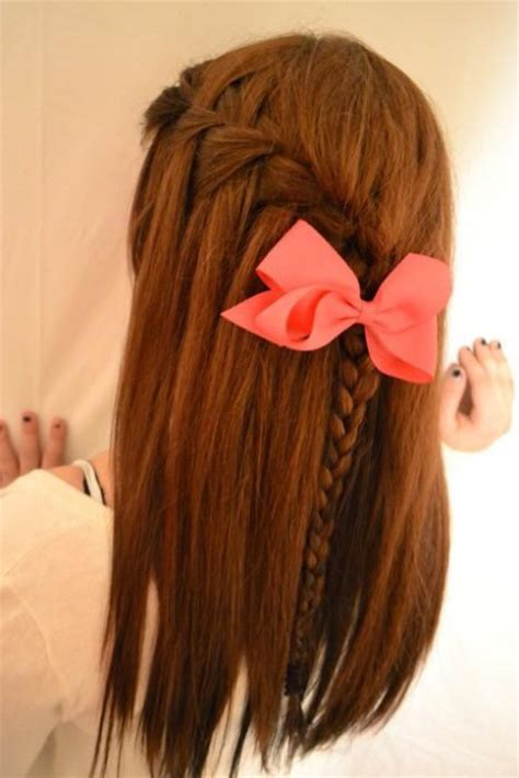 pictures of blue hair braided into brown hair prox style what s hot bows