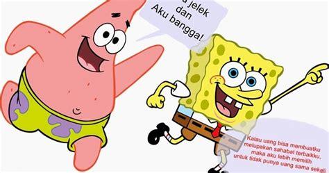kumpulan kata indah  lucu  kartun spongebob squarepants