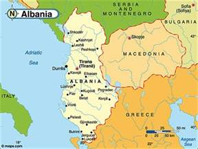 Albania Map In Europe by Destination Albania Map Of Albania Country Map Of Albania
