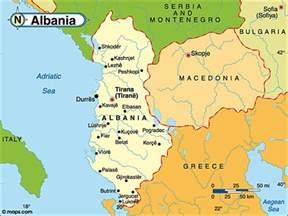 Albania Map Europe by Destination Albania Map Of Albania Country Map Of Albania