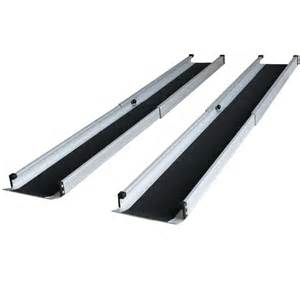 alurampe rollstuhl aluminium rampe rollstuhlrampe