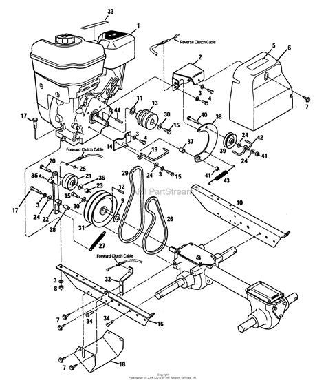 troy bilt bronco transmission belt diagram troy bilt 21a 520 081 bronco tiller 12180 12180 bronco