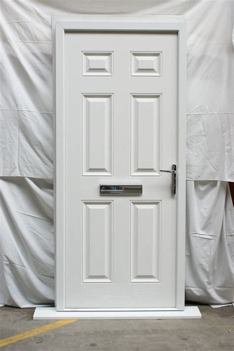 White Front Doors Left White Composite Front Door Flying Doors