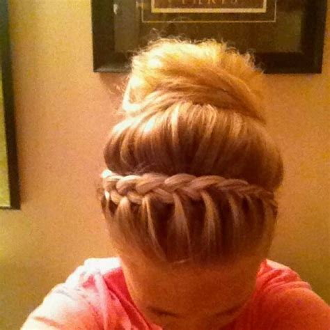 french braid bun on empire 71 best images about braided hair styles on pinterest