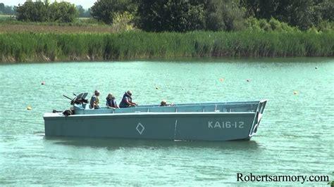 higgins boat lcvp lcvp higgins boat sailing august 9 2014 youtube