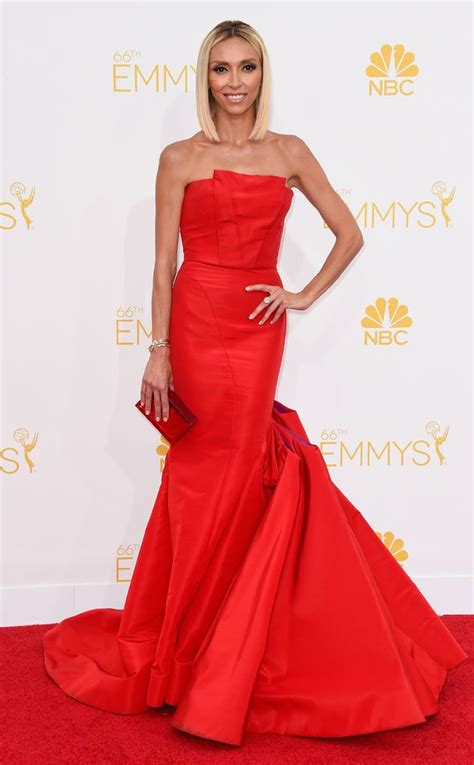 comments made by rancic on red carpet about black persons braids giuliana rancic from 2014 emmys red carpet arrivals e