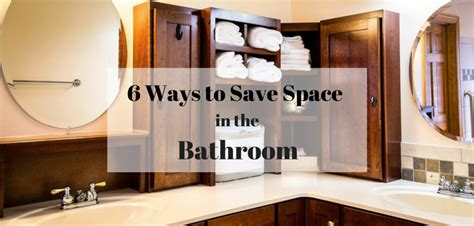Space Saving Ideas For Small Bathrooms by 6 Space Savers For Small Bathrooms Space Saving Bathroom