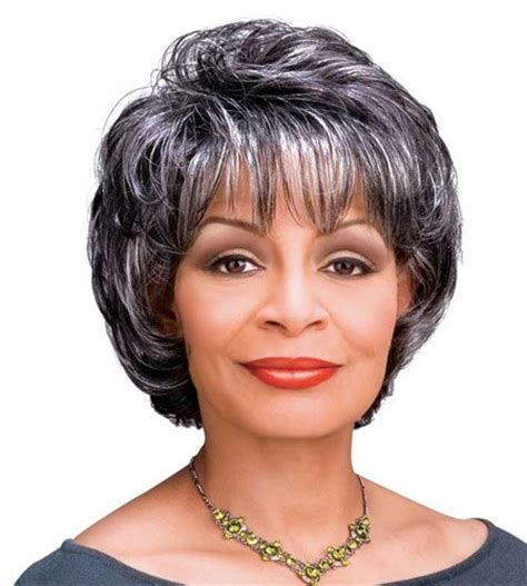 silver fox wigs for women over 50 silver color wigs for women over 50 synthetic hair gray
