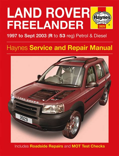 free service manuals online 2011 land rover discovery electronic valve timing haynes workshop repair owners manual land rover freelander petrol diesel r to 53