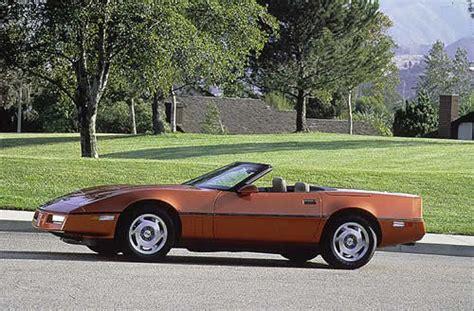 88 corvette specs 1988 orange copper corvetteforum chevrolet