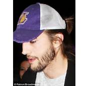 Ashton Kutcher Shaves Off Scruffy Beard For Two And A Half