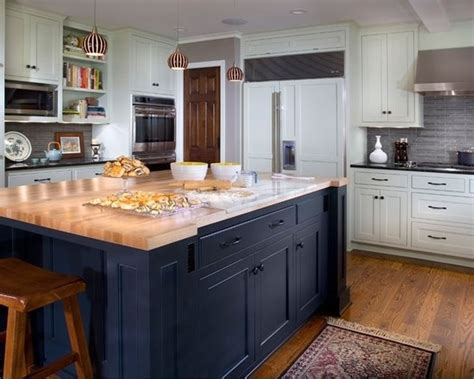 blue kitchen islands navy blue island kitchen pinterest