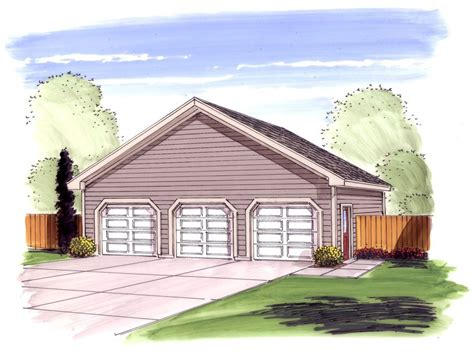 3 car garage plans architectural design simple 3 car garage with storage 62485dj cad available
