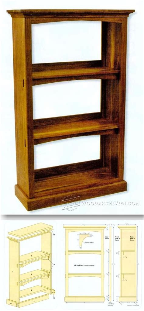 do it yourself built in bookcase plans best 20 bookcase plans ideas on