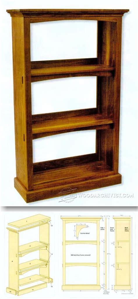 craftsman furniture plans two shelf bookcase plans roselawnlutheran
