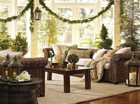 wicker christmas decor planning ideas beautiful houses decorated for with wicker furniture beautiful
