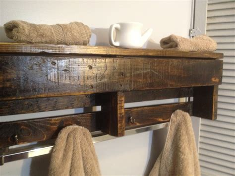 Handmade Wood Shelves - handmade reclaimed pallet wood shelf entry organizer coat