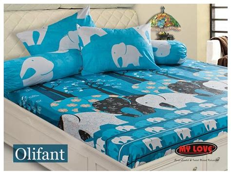Sprei My Bed digital catalog bed sheet bed cover my my olifant
