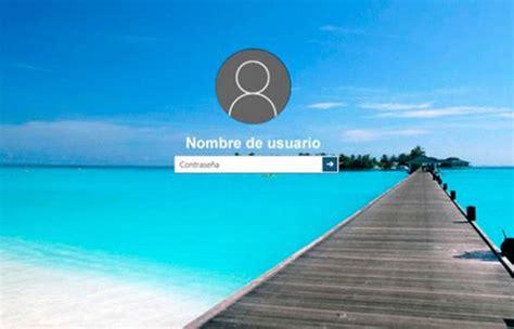 imagenes de inicio windows 10 como cambiar el fondo de pantalla de inicio de sesion en