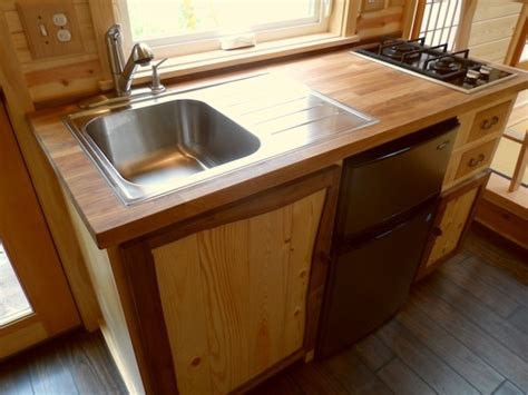 tiny house kitchen sink your own tea room in a 134 sq ft japanese tiny home