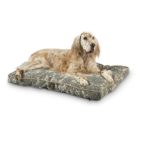 camouflage dog bed u s army dog bed digital camo 165212 kennels beds