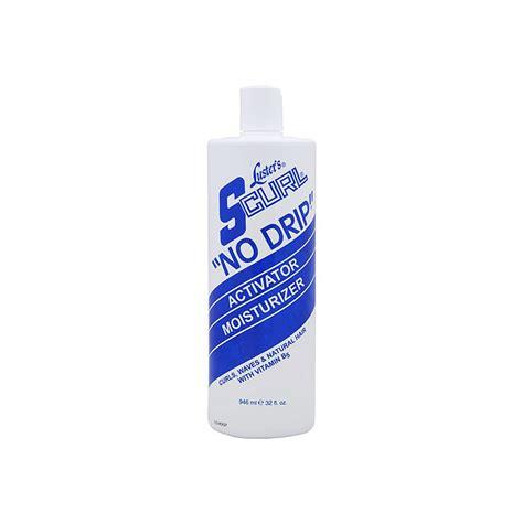 scurl no drip curl activator moisturizer new formula s curl no drip activator 32oz gpb supplies