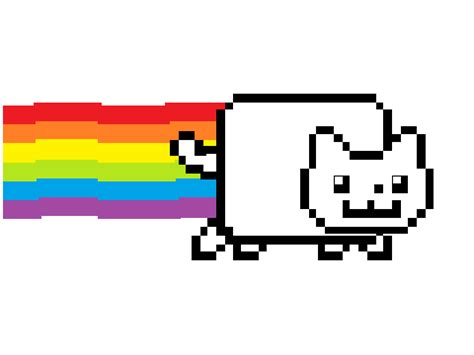 coloring pages of nyan cat nyan cat free colouring pages