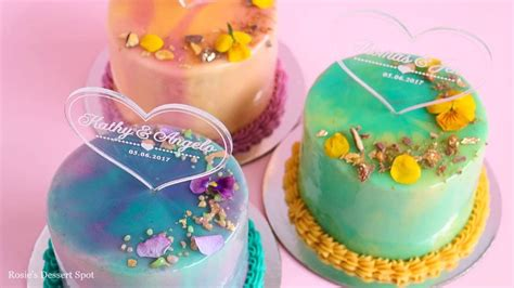tutorial dance of dessert mini mirror glaze cake tutorial rosie s dessert spot