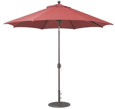 Auto Tilt Patio Umbrella 9 Aluminum Deluxe Auto Tilt Patio Umbrella