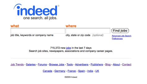 Indeed Search Search Engine Indeed Search Marketing Communications