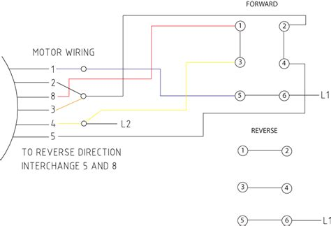 wiring diagram for 230v single phase motor get free