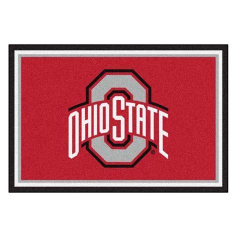 college team rugs ohio state college team spirit area rug
