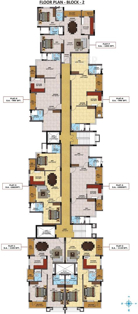 models rates imperial tower apartments with how big is 985 sq ft 2 bhk 2t apartment for sale in sri sreenivasa