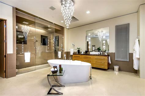 Clawfoot Tub Bathroom Design 25 sparkling ways of adding a chandelier to your dream