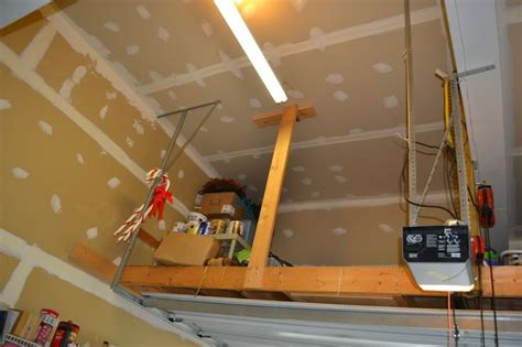 how to build a garage loft attic storage loft without ground support doityourself