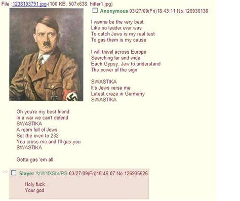4 Chan Meme - swastika gotta catchem all hitler cover 4chan know
