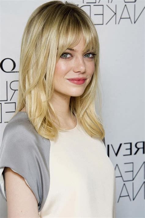 Medium Length Hairstyles With Bangs And Layers by Medium Length Haircuts With Bangs And Layers 1000 Images