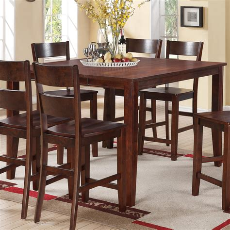 counter height pub table house 8203 square counter height table with