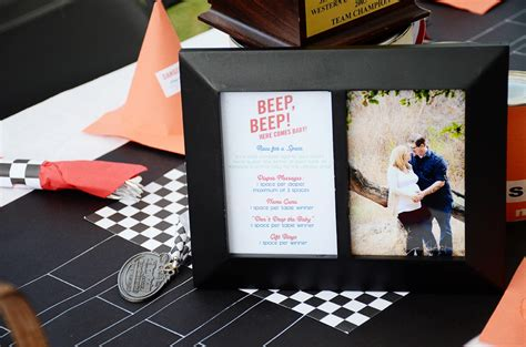 Race Car Themed Baby Shower by Vintage Cars And Drag Racing Themed Baby Shower And