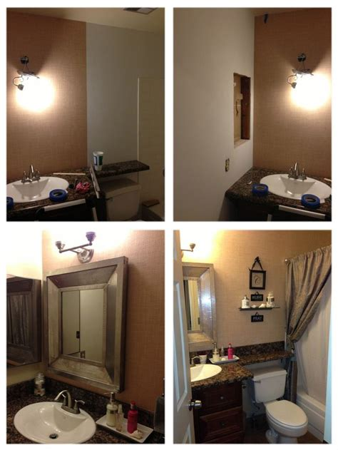 diy bathroom remodel crafts