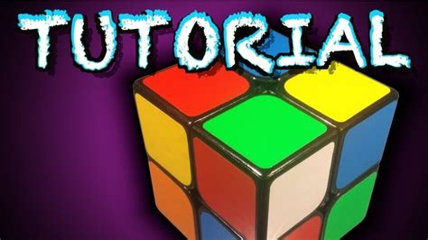 tutorial for rubik s cube how to solve a 2x2 rubik s cube beginners method