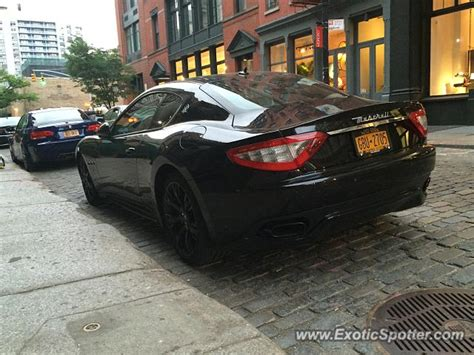 Manhattan Maserati by Maserati Granturismo Spotted In Manhattan New York On 05