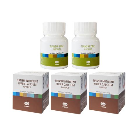 Tiens Paket Kecantikan 15 Hari jual tiens peninggi herbal paket gold 6 kalsium 4 zinc
