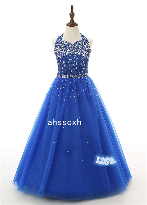 Dresses Handmade - sequins pageant dresses gown