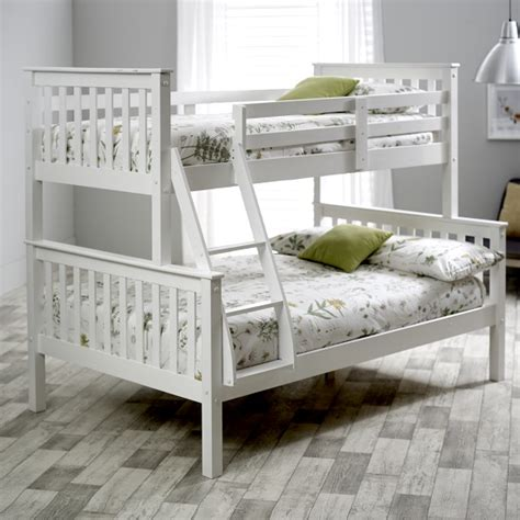 White Pine Bunk Beds Wooden Sleeper Bunk Bed In White Pine 30347