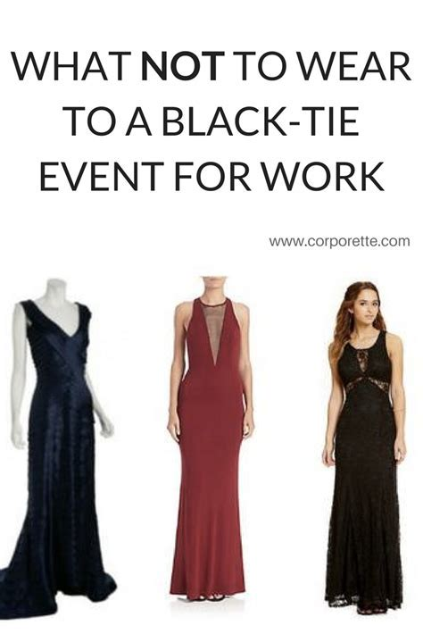 What Not to Wear to a Black Tie Event   Best of Corporette