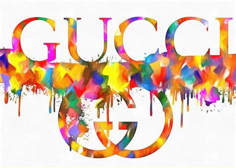 Gucci Gift Card - gucci logo greeting cards fine art america